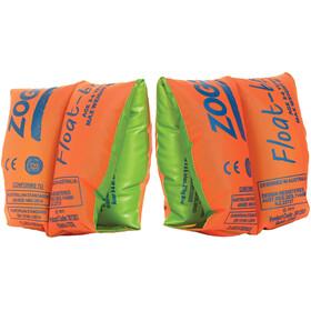 Zoggs Float Bands Kinderen groen/oranje